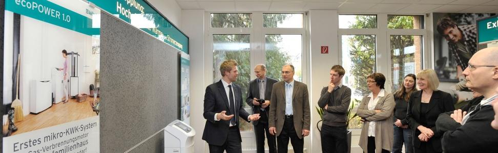 Vaillant: EU-Delegationen informieren sich über Nachhaltigkeit und Energieeffizienz