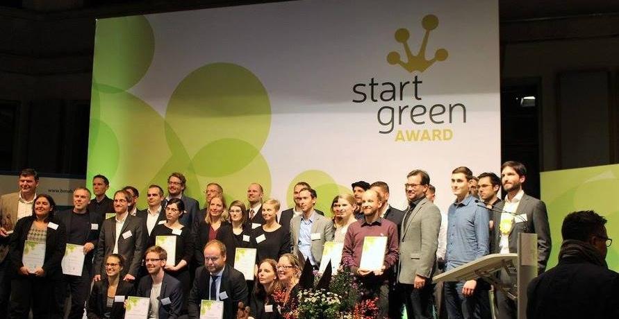 Grüne Startups erhalten die StartGreen Awards in Berlin
