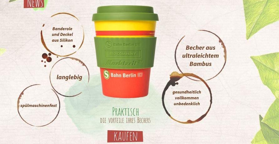 S-Bahn Berlin sorgt für nachhaltigen Coffee to Go