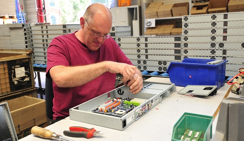 Wiedergeburt: Zweites Leben für ausgemusterte IT-Hardware