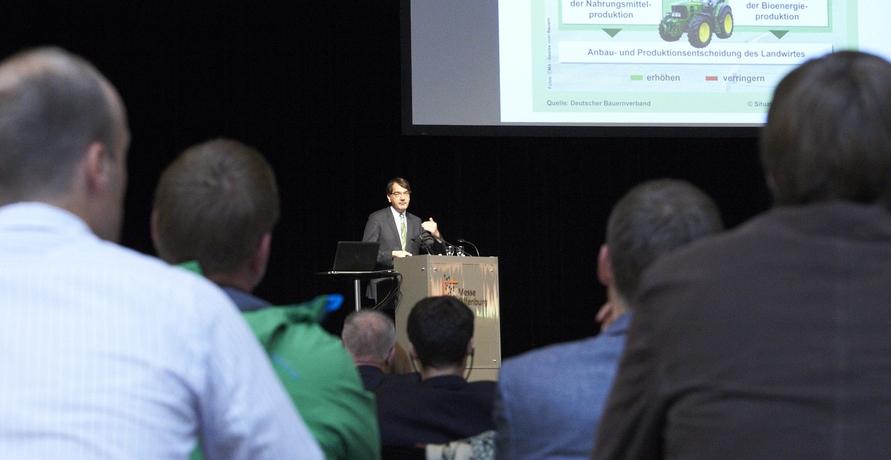Aktuelle Branchendiskussion auf der Biogas 2017 in Offenburg
