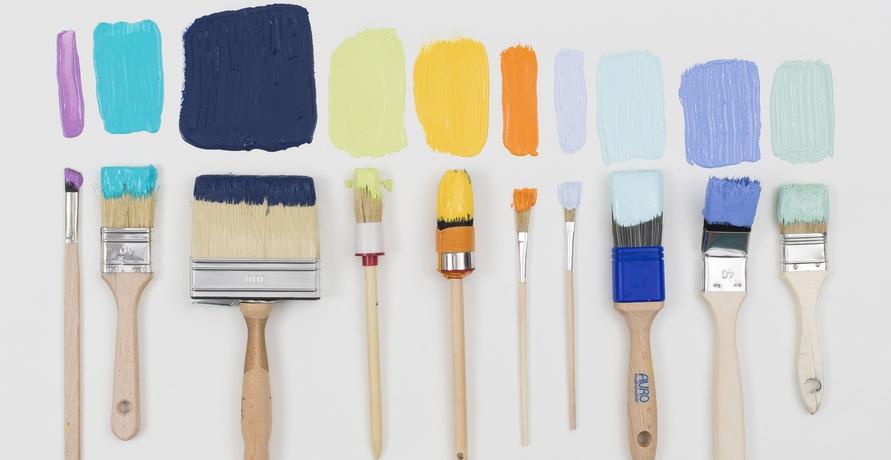 Ökologische Wandfarben auf mineralischer Basis