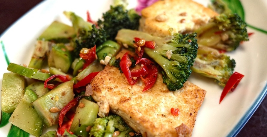 Vegan leben heißt nicht nur Tofu essen