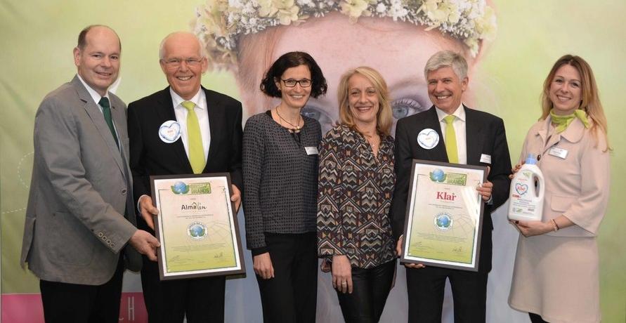 AlmaWin zum dritten Mal mit dem Green Brand-Award ausgezeichnet