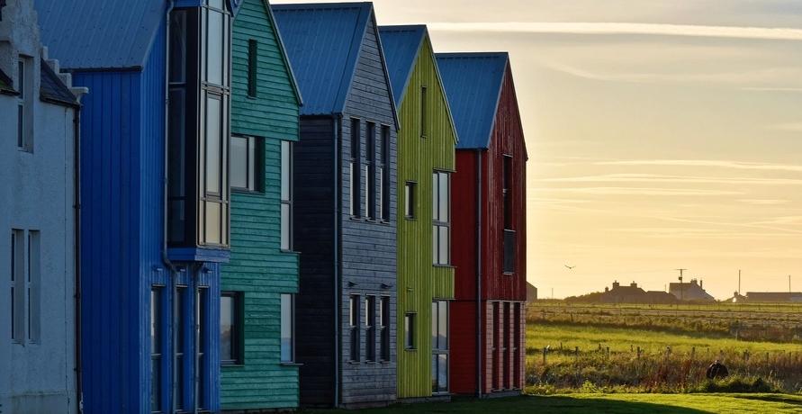 Ökologischer Haus-Bau gegen schwindende Energieressourcen