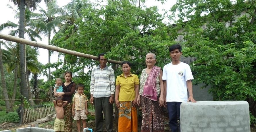 Grüner Strom in Deutschland ermöglicht saubere Energie in Kambodscha
