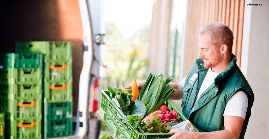 Hundert Prozent Bio direkt ins Haus geliefert