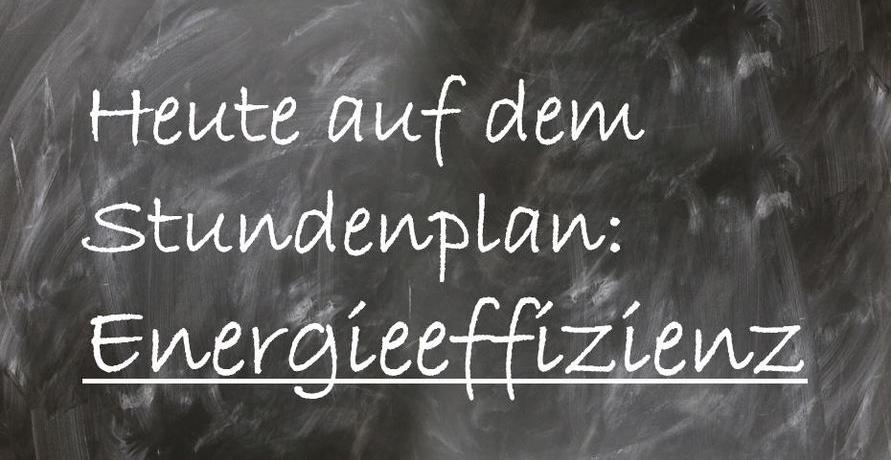 """""""Energieeffizienz"""" auf dem Stundenplan in Essener Schule"""