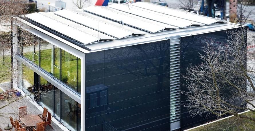 Effizienzhaus Plus in Berlin ist umgebaut