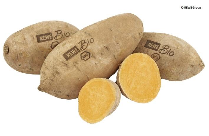Laser-Etikettierung auf Obst und Gemüse