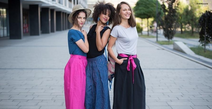 Nachhaltige Kleidung aus Familien-Nähstube bei Krakau