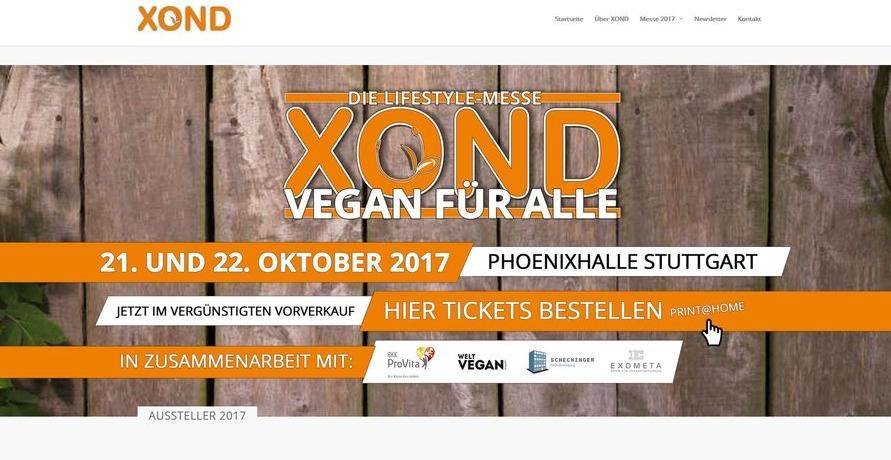 XOND die vegane Lifestyle Messe: Gesundes Fast-Food im 21. Jahrhundert