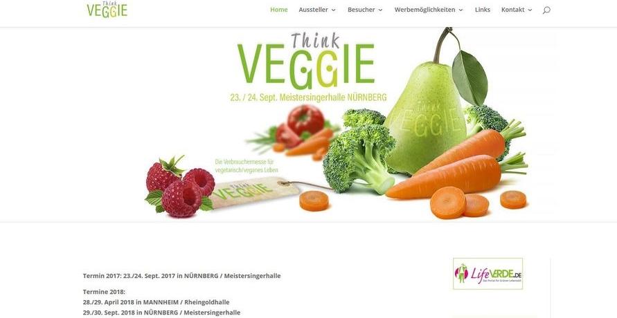 Think-Veggie-Messe: Die Verbrauchermesse für vegetarisch/veganes Leben