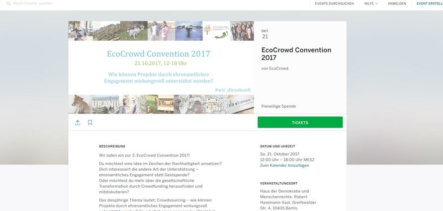 EcoCrowd Convention