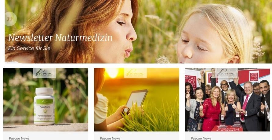 Anzeige: Der Newsletter für die ganze Familie – von Pascoe Naturmedizin