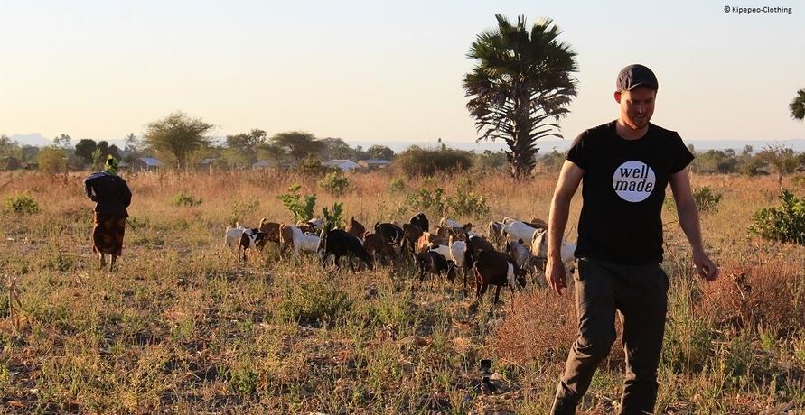Faire Bio-T-Shirts aus Tansania