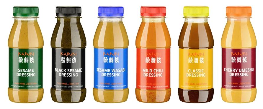 akari taste - frische japanische Dressings