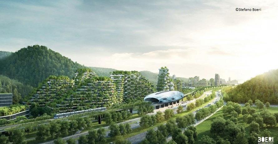 Vertikale Wälder und grüne Städte