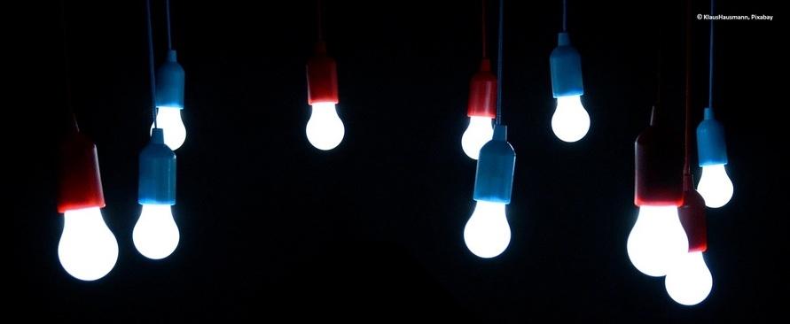 Licht ins Dunkel: Leuchtmittel der digitalen Globalisierung