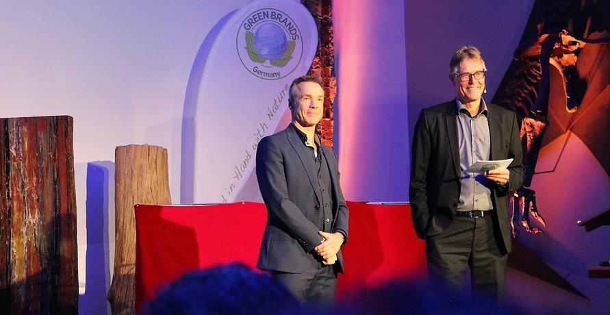 Hannes Jaenicke auf der GREEN BRANDS Gala 2017