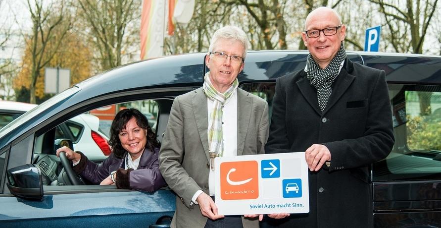 cambio Carsharing und GESOBAU kooperieren