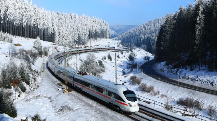 Mit der Bahn in den Skiurlaub