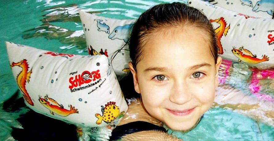 Schwimmkissen für Kinder ohne Plastik