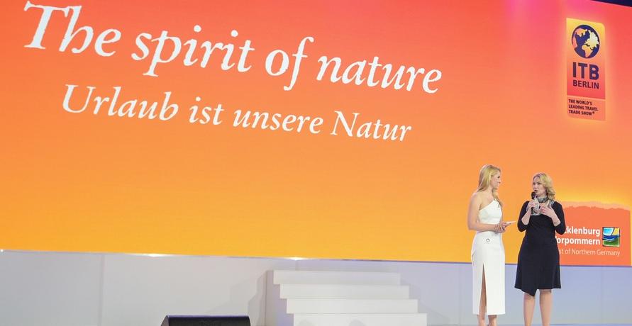 Grüne Tourismusaussteller auf der ITB Berlin