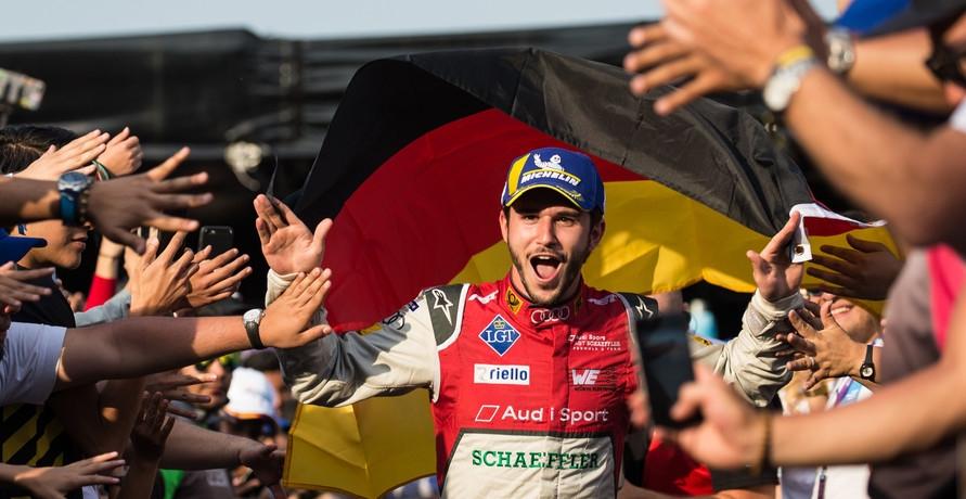 Daniel Abt siegt bei der Formel-E für Audi