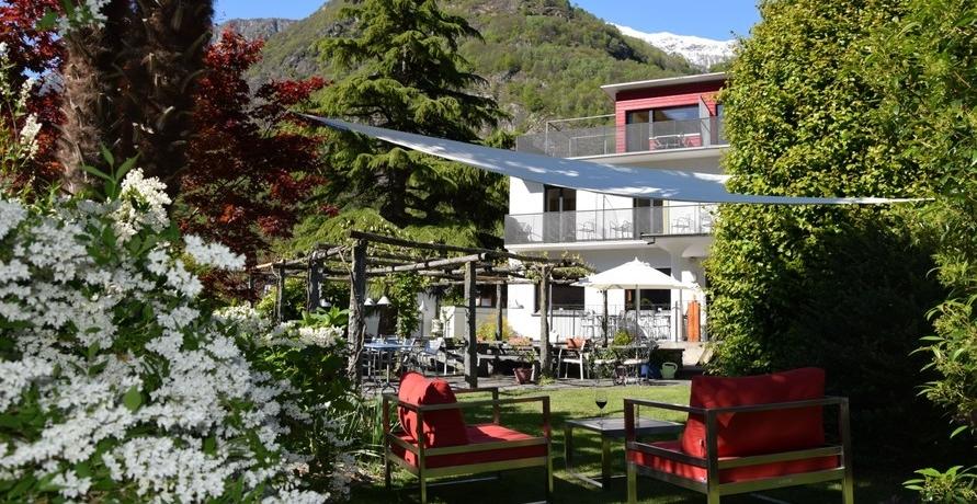 Ökohotel Cristallina in den Schweizer Alpen