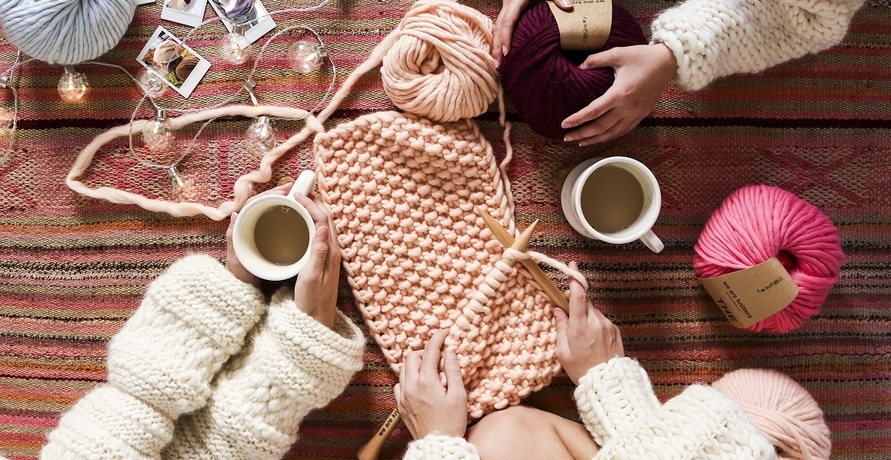 """We Are Knitters"", Teil des DIY-Trends"