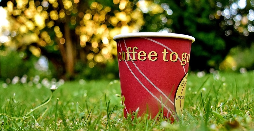 Plastikbecher: Coffee to go? Let's say NO!