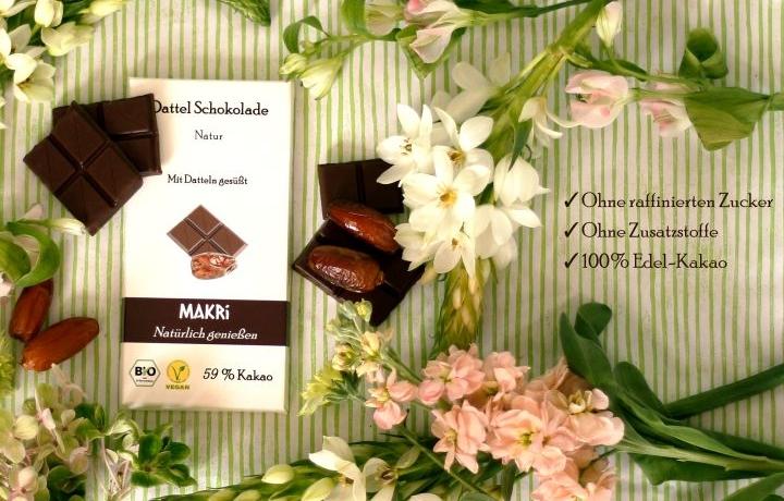 Makri- die natürliche Dattelschokolade zum Dahinschmelzen