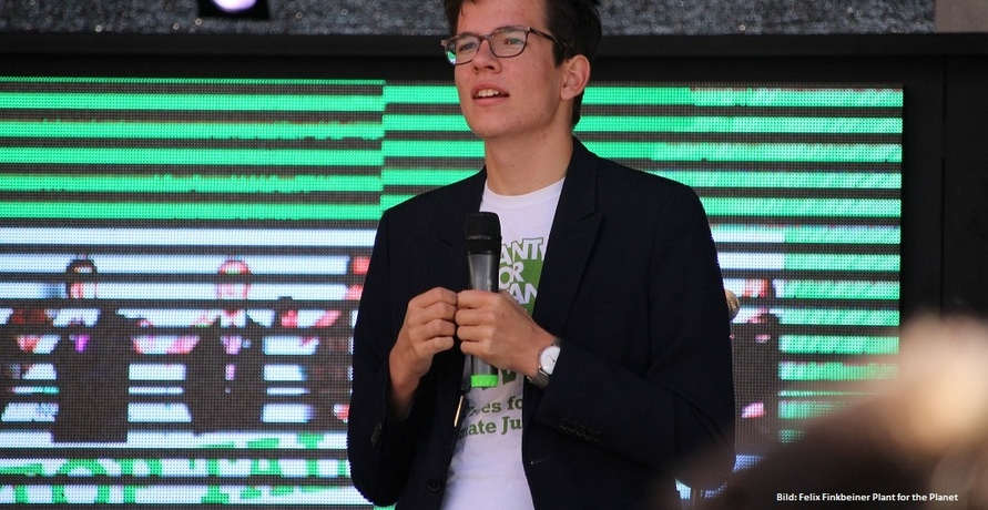 Felix Finkbeiner von Plant for the Planet über den Klimawandel und die Zukunft seiner Schülerinitiative
