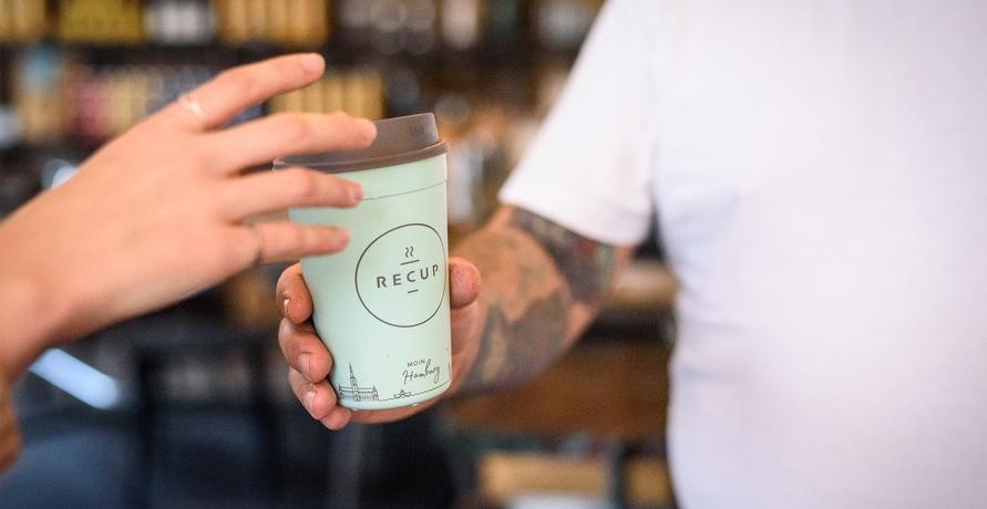 """reCup - Ein Pfandbecher-System für """"Coffee-to-Go"""""""