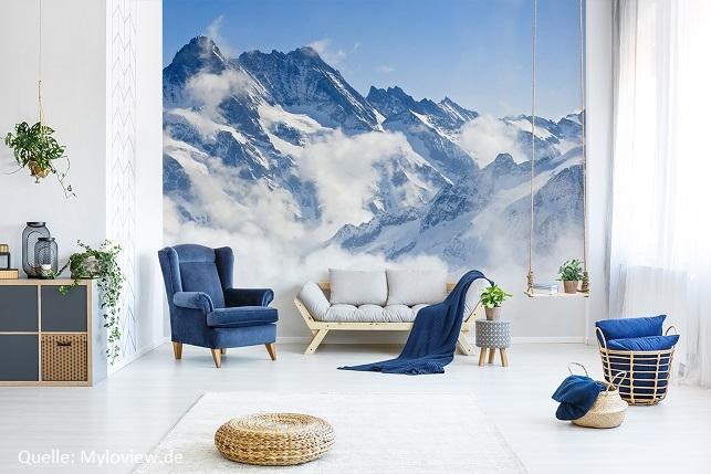 Eine grüne Oase in Ihrer Wohnung – dies ist dank einer Fototapete möglich!