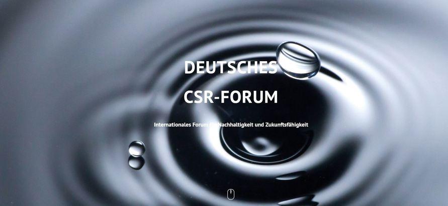 Das 15. Deutsche CSR-Forum 2019