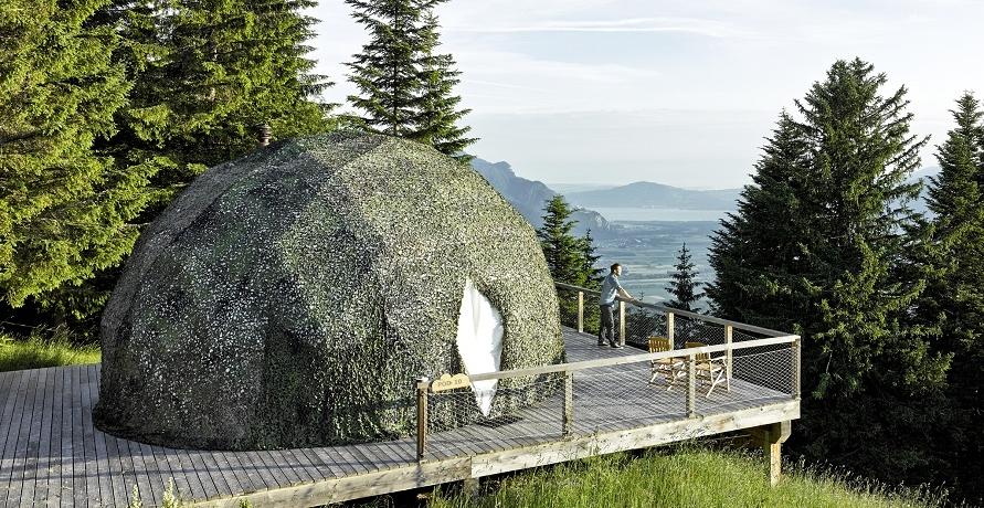 5 schöne und extravagante Naturhotels zum Entspannen und Erholen