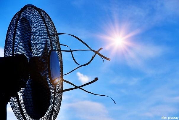 5 stylische und stromsparende Standventilatoren für den Sommer