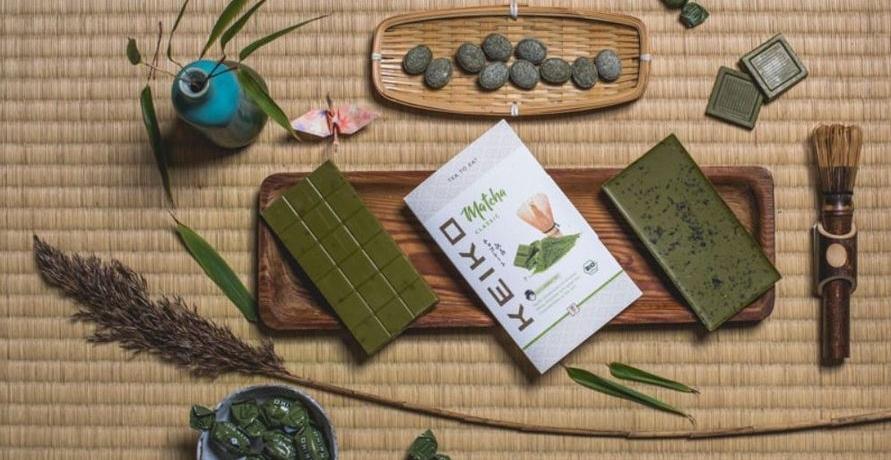 Japanische Grüntee-Produkte von der KEIKO Biofarm