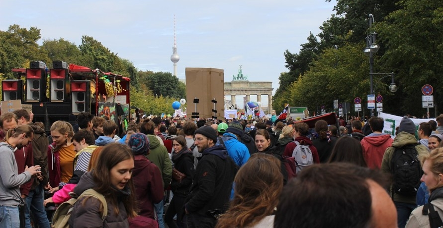 Klimastreik in Berlin - Es lebe fridays for future