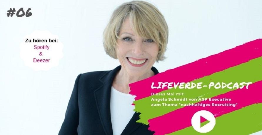 PODCAST | Interview mit Angela Schmidt zum Thema nachhaltiges Recruiting