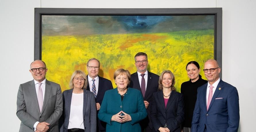 Angela Merkel trifft Vorreiter der Nachhaltigkeit
