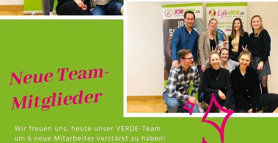Das Team der VERDE-Portalfamilie wächst weiter