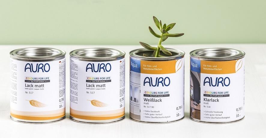 AURO - umweltbewusste Farben für Wände und Co.