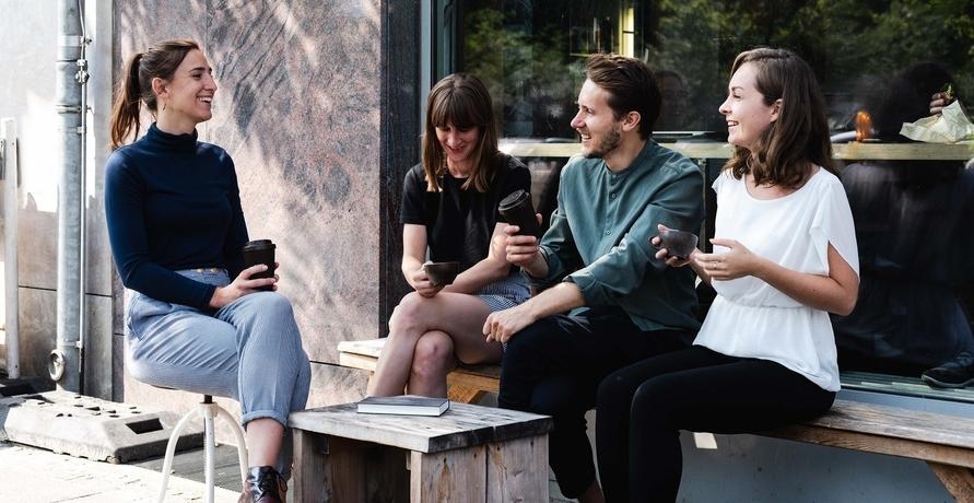 Kaffeetassen aus Kaffeesatz, eine echt nachhaltige Alternative