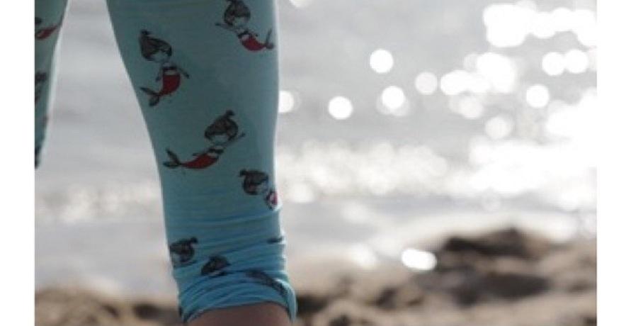 Nachhaltige Bio-Leggings für kleine Heldinnen