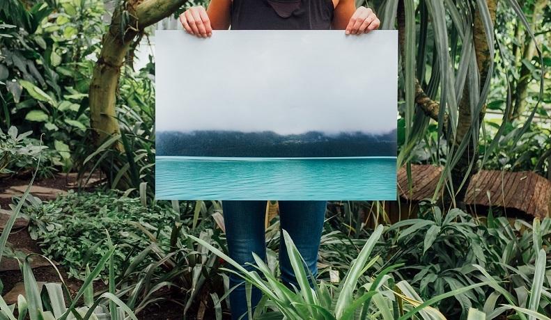 """Print fast ohne ökologischen """"Footprint""""- wie du mit Printprodukten etwas Gutes tust"""