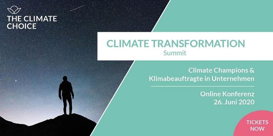 Der Climate Transformation Summit – was es damit auf sich hat