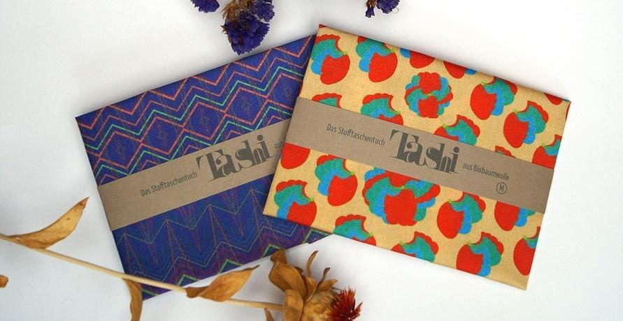 Bunte Stofftaschentücher als Hingucker und nachhaltige Alternative